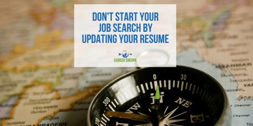 Start Job Search