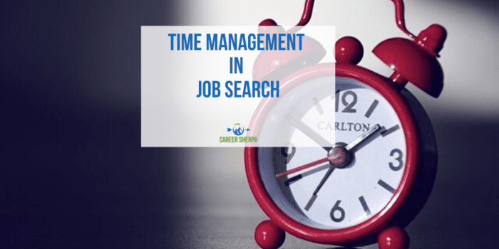 Time Management in Job Search