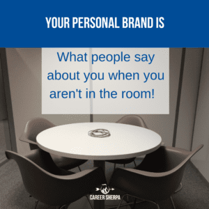 your personal brand is