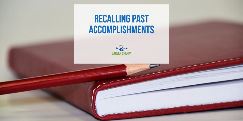 Recalling Past Accomplishments
