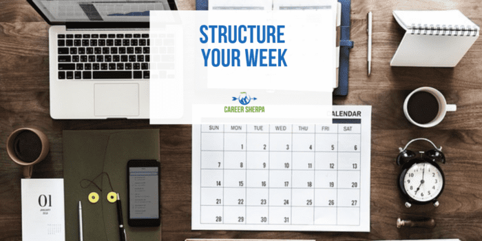 Structure Your Week