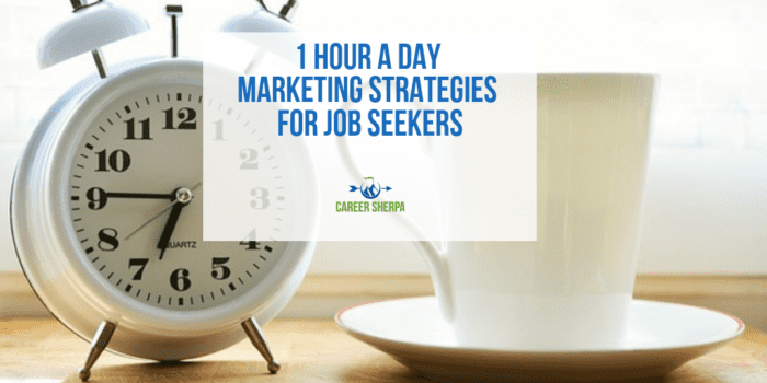 marketing strategies for job seekers