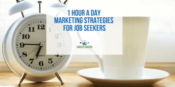 marketing strategies for job seekers