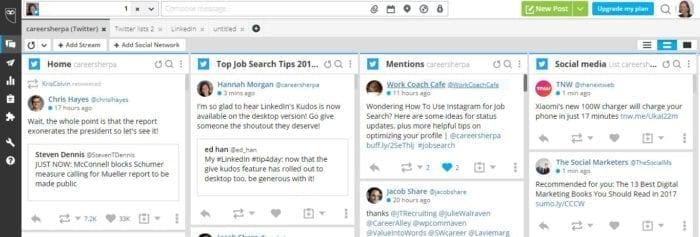 Hootsuite 2019 screenshot