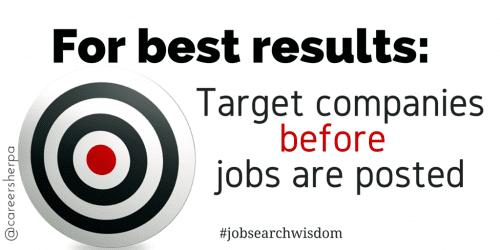 target companies @careersherpa