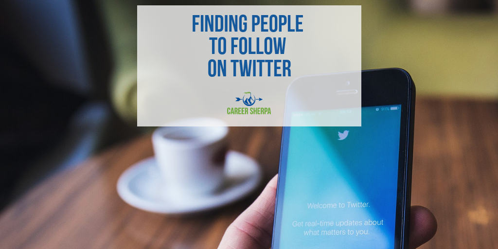 People to Follow on Twitter