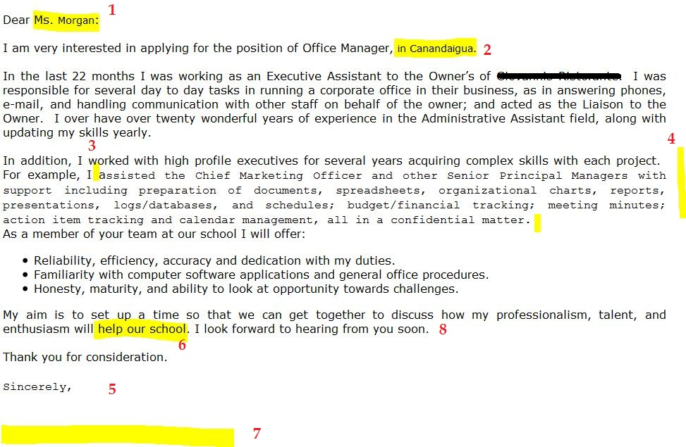 cover letter mistakes funny