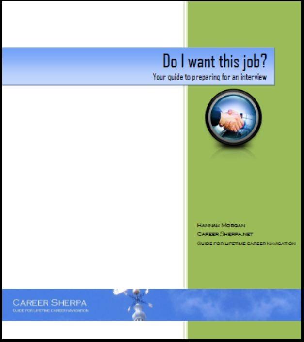 Do I Want this Job? eBook