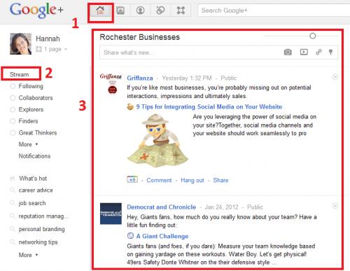 google plus discussions