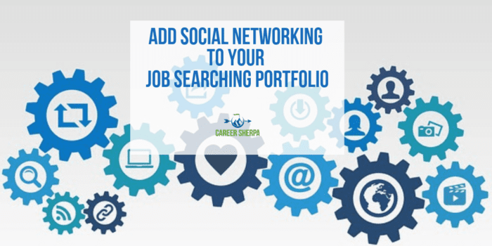 Social Networking to Your Job Searching Portfolio