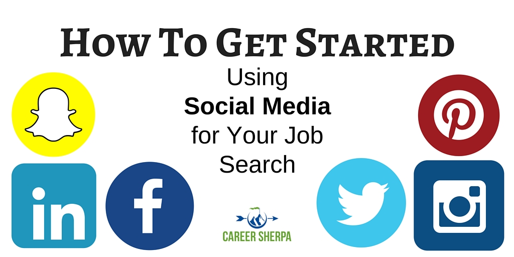How To Get Started Using Social Media for Your Job Search