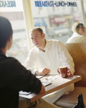 meeting over coffee