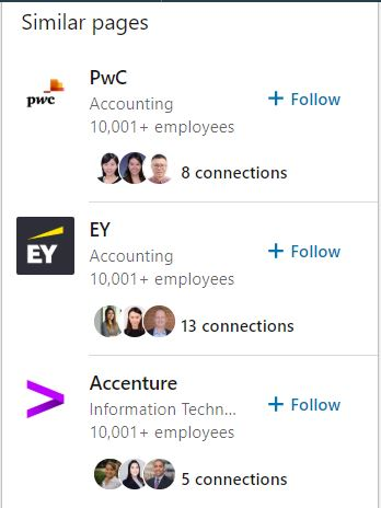 LinkedIn Similar Pages