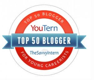 YouTern Top 50 blogger