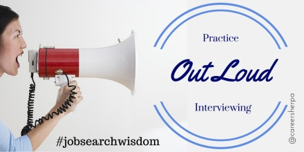 Practice interview answers OUT LOUD