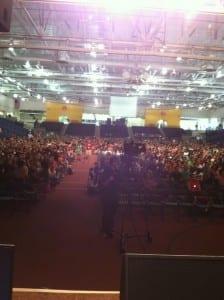RIT freshman audience 2012