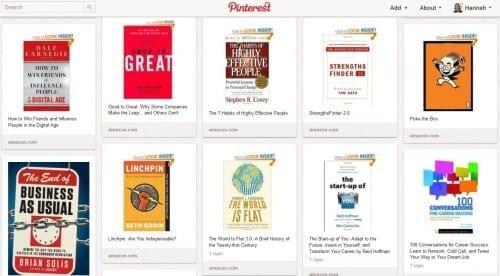 Good reads on Pinterest