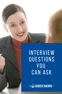 job interview questions you can ask