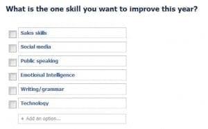 skills to improve