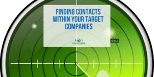 Finding Contacts Within Your Target Companies