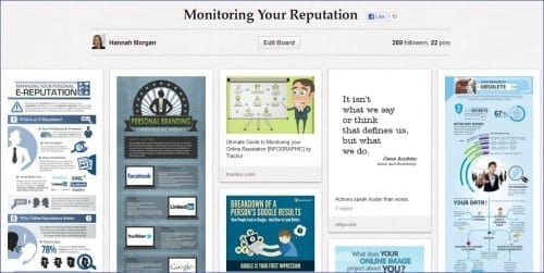 pinterest monitoring your reputation