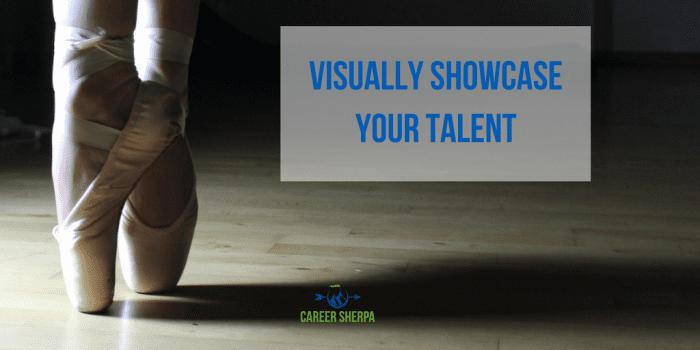 Visually Showcase Talent