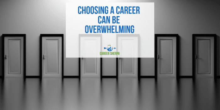 Choosing A Career Can Be Overwhelming