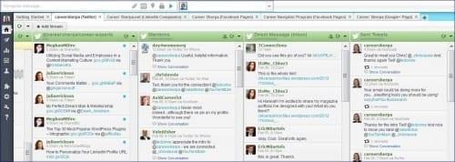 hootsuite screen