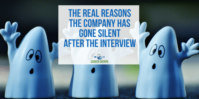 Company Has Gone Silent After the Interview
