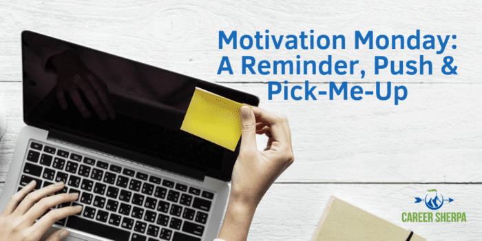 A Reminder Push Pick-Me-Up
