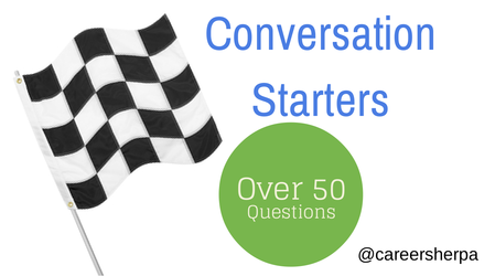 Networking Conversation Starters and Closings - Career Sherpa