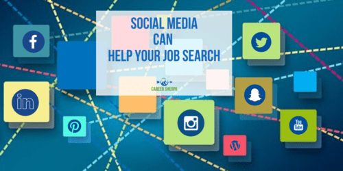 social media can help job search