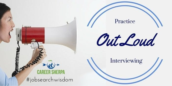 practice out loud