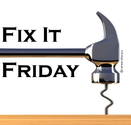 Fix it Friday follow-up after the job interview