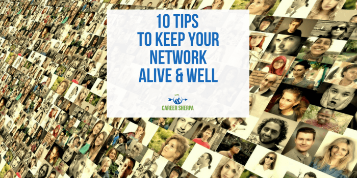 Keep your network alive and well