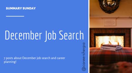 December Job Search