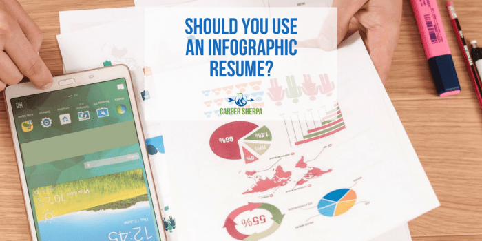 Should You Use An Infographic Resume_