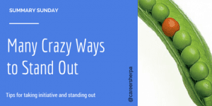 Summary Sunday: Many Crazy Ways To Stand Out