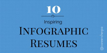 10 inspiring infographic resumes