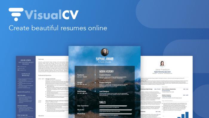 VisualCV update