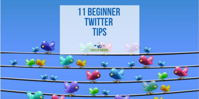 11 Beginner Twitter Tips