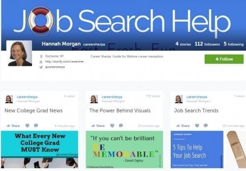 storify careersherpa