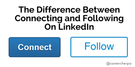 how to stop following on linkedin