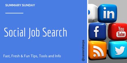 Summary Sunday- Social Job Search