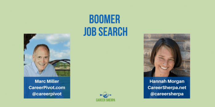 Boomer Job Search with Marc Miller