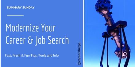 Modernize your career job search @careersherpa