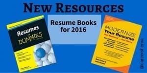 New Resources: Resume Books for 2016