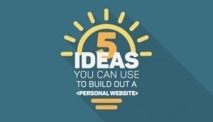 ideas-build-personal-website Visme
