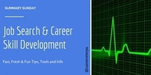Summary Sunday: Job Search and Career Skill Development
