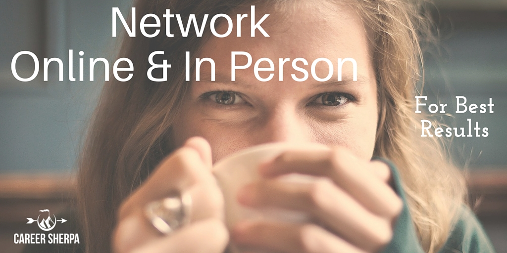 Network Online and In Person